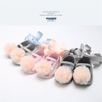 2018 Autumn Leather Newborn Baby Girls Princess Shoes First ...