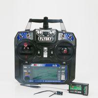 Aerops FS-I6 FS I6 2,4G 6CH RC-Sender-Controller IA6 oder IA6B oder IA10B-Empfänger für RC-Hubschrauber Quadcopter-Drohne