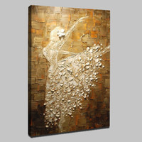 Dancer Mintura Oil Painting with 100% hand painted on canvas...