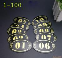 5 * 8 cm akrylowy sklep hotelowy klej drzwi znak tabliczka płyta szafka do przechowywania numer półki znak naklejki przyjęcie DIY dekoracji
