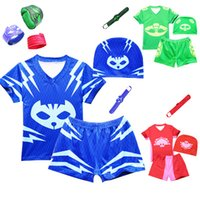 New Boys Swimsuit Set 4pcs Tops and Shorts with Swim Hat Bra...