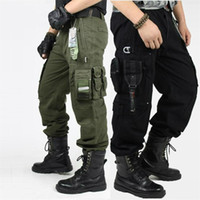 CARGO PANTS Overalls Men' s Millitary Clothing TACTICAL ...