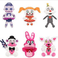 Five Nights At Freddy's Peluche Bambole giocattolo FNAF peluche Freddy Fazbear Mangle Foxy chica bonnie Giocattoli farciti Doll Sister Location