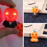 Creative Halloween Keyring Ghost Shaped With LED & Sound Emi...