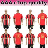 9387f56cf FC Men MLS Soccer Jersey Atlanta United Set 10 Miguel Almiron 7 Josef  Martinez 4 Greg Garza Football Shirt Kits Uniform Team Red