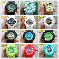5pcs lot remark relogio G110 men' s sports watches, LED ...