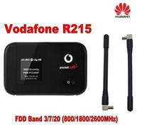 Оригинал Vodafone R215 WIFI Hotspot 150 Мбит LTE Мобильный WiFi Маршрутизатор плюс 2 шт. 4 г антенны