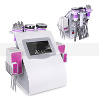 Factory directly sale 6in 1 40k ultrasound cavitation rf vac...