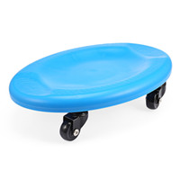 Çok yönlü Karın Kas Disk Fitness Dört Tekerlekler Rulo Gym Eğitim Plakası karın ve bacak kas egzersiz için suits