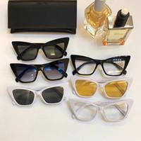 Le soleil des hommes nouveaux hommes de SL244 de qualité supérieure lunettes style de mode féminine protège les yeux Lunettes de soleil lunettes de soleil avec la boîte