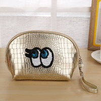 New PU clutch cartoon fashion handbags cosmetic bag creative...