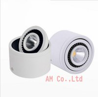 AC110- 240V 5w 7w 9w 15W Surface Mounted Round COB LED Downli...