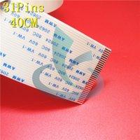 20 unids On Sales 31 pin dx5 cabezal de impresión cable plano 31 pin 400mm cable DX5 cable del cabezal de impresión para Allwin Human Xuli Twinjet impresora repuestos
