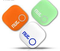 2018 En çok satan Somun 2 Mini Akıllı Bulucu Bluetooth Anahtar Bulucu Akıllı Izci iTag Kablosuz Anti Kayıp Hatırlatma Bulucu Bagaj Izci