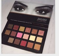 2018 Brand 18 Colors Eyeshadow Palette Rose Gold Textured Pa...