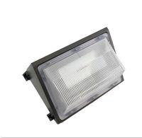 أضواء الجدار LED حزمة 60W 80W في الهواء الطلق الجدار الخيالة الصناعية الخفيفة Meanwell UL ETL SAA CE Equal 600W Wallpack مصباح التقليدية