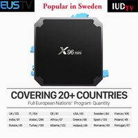 Europe IPTV Box X96 mini With 1 year EUSTV Sweden iptv subsc...