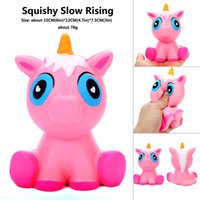 Squishy unicorns 15CM Jumbo Slow Rising Soft horse Oversize ...