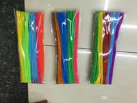 100 шт. Много плюшевые палки дети развивающие игрушки DIY животные мягкие игрушки плюшевые Шилли палку ручной работы Искусство ремесло Рождество