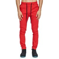 2018 Men Drop Crotch Jogger Pants Fashion Strech Harem Sweat...