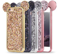 Bling Paillettes ТПУ чехол блеск Shell ТПУ чехол для iPhone 8 Plus iPhone 6S 7 X Plus Samsung S8 Plus