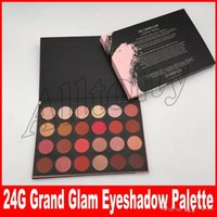 New Arrivals 24G GRAND GLAM Matte 24 Colors Powder Eyeshadow...