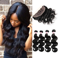 Ear to Ear Lace Frontal Brazilian Virgin Human Body Wave Hai...