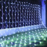 Оптовая 10m * 8m 2000Leds 6Mx4M 640 LED очень большой чистый свет клей водонепроницаемый лампы огни вспышки лампы декоративные огни