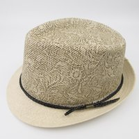 EPU- MH1829 Paper Straw mens and womens Vintage Stingy Brim F...