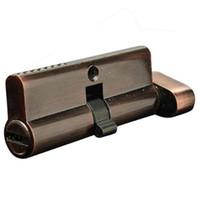 LHLL-70mm Segurar Mão Fechadura Bloqueio Cilindro De Bloqueio De Bronze De Núcleo De Bloqueio De Cobre Vermelho