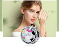 New Hot Unicorn charms S925 sterling silver fits for pandora...