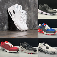 2018 90 Sneakers Mens Shoes classic Soft Men women Running S...