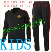 kids Belgium tracksuit Long Sleeves 2018 2019 Belgium traini...