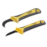 Freeshipping кабель зачистки нож 175/180 мм из нержавеющей стали кабель резак для зачистки проводов профессиональный электрик нож инструменты