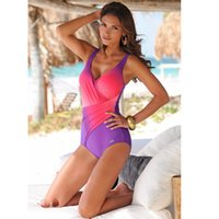 2018 New Women Summer Swimming Suit Gradient color high qual...
