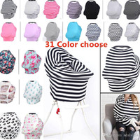 New Baby Nursing Cover Privacy Wrap Cotton Scarf Blanket Str...