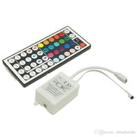 Car DC12V 6A 44- Key IR LED Light Controler IR Remote LED Dim...