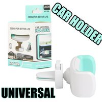 Universal Mini Air Vent Car Mount Holder 360 Rotating Clip S...