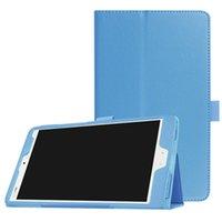 화웨이 MediaPad M3 BTV - W09 BTV - DL09 8.4 인치 태블릿 + 스타일러스에 대한 핫 트라이 접이식 가죽 케이스 커버