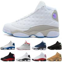 Envío gratis Barato Nuevo 13 Zapatos de Baloncesto Zapatillas para Hombre GS Burdeos Marca Hombres 13s Negro Azul Blanco Zapatos Deportivos EE. UU. 8-13