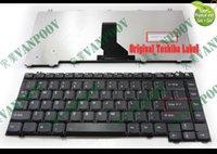 لوحة مفاتيح الكمبيوتر المحمول الأمريكية الجديدة من Toshiba Satellite A10 A15 A25 A35 A40 A45 A50 A60 A65 A70 A75 A85 P35 Tecra A1 A2 A3 A4 A5 A7 Black
