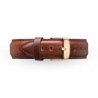 Drop Shipping pulseiras de relógio 20 milímetros Homens Mulheres Ultra Slim relógio marca com simples couro Bandas de aço inoxidável pulseira frete grátis