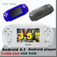 2PCS Tlex Ulike Android 512 MB RAM 4 GB ROM Handheld TV Spielkonsole Bluetooth Wifi HDMI Video Unterstützung MP4 MP5 NES FC SFC MD