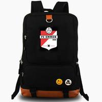 Emment Rucksack Fants FC Daypack Holland Football Club Schoolbag Sockber Packsack Team рюкзак для ноутбука школьная сумка для ноутбуки