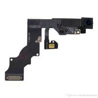 Original Deuxième main remettre à neuf Avant Caméra Face Pour iPhone 6 Plus 5.5 pouces Avec La Lumière Capteur de Proximité Flex Câble Ruban Réparation Pièce