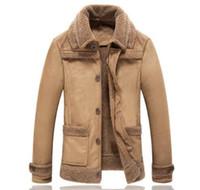 Зима сгущает теплый мотоцикл кожаная куртка мужчины jaqueta де couro masculino motoqueiro chaqueta hombre мужская искусственный мех пальто 4XL