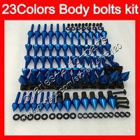 Fairing bolts full screw kit For Triumph Daytona 675 02 03 04 05 06 07 08 2002 2003 2004 2005 06 2008 Body Nuts screws nut bolt kit 25Colors