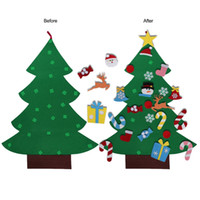 DIY Felt Christmas Tree New Year Gifts Kids Toys Artificial ...