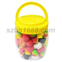 100pcs can 3ml skull containers assorted color silicone cont...