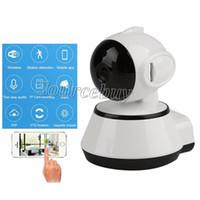 Nuova telecamera IP V380 720P Telecamera di sorveglianza wireless Wi-Fi P2P CCTV Wifi Telecamera IP rotazione gratuita APP V380 Telecamera di sicurezza domestica Baby Monitor